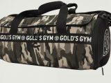 Gold's Gym Camo Barrel Gym bag